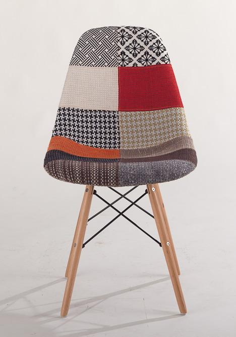 muebles de diseo moderno saln silla del ocio tapizado patchwork acolchado de tela suave cubierta de