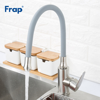 FRAP kitchen faucets kitchen mixer faucet 360 degree rotate faucet nozzle water saving tap faucet for kitchen sink taps torneira