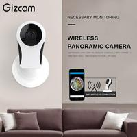 Wireless CCTV Fisheye WiFi IP Mini Camera P2P IR Night Vision 2 Way Audio