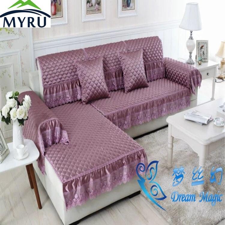 Myru Modern Hot Sale Sofa Covers Slip Resistant Sofa Towel Sofa Slipcover Pattern Covers For