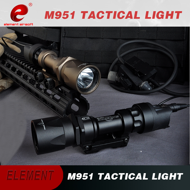 Airsoft Element Weapon Light Surefir M951 Rifle Light For Gun Remote Pressure Switch Tactical Scout Flashlight