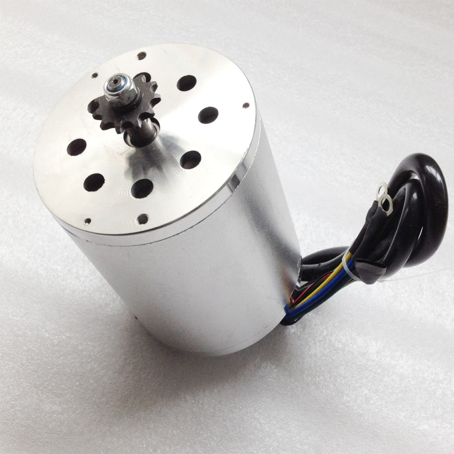 Great 1500W 36V Brushless Electric DC Motor for Foldable Electric Scooter Using with 5600rpm Speed Electric