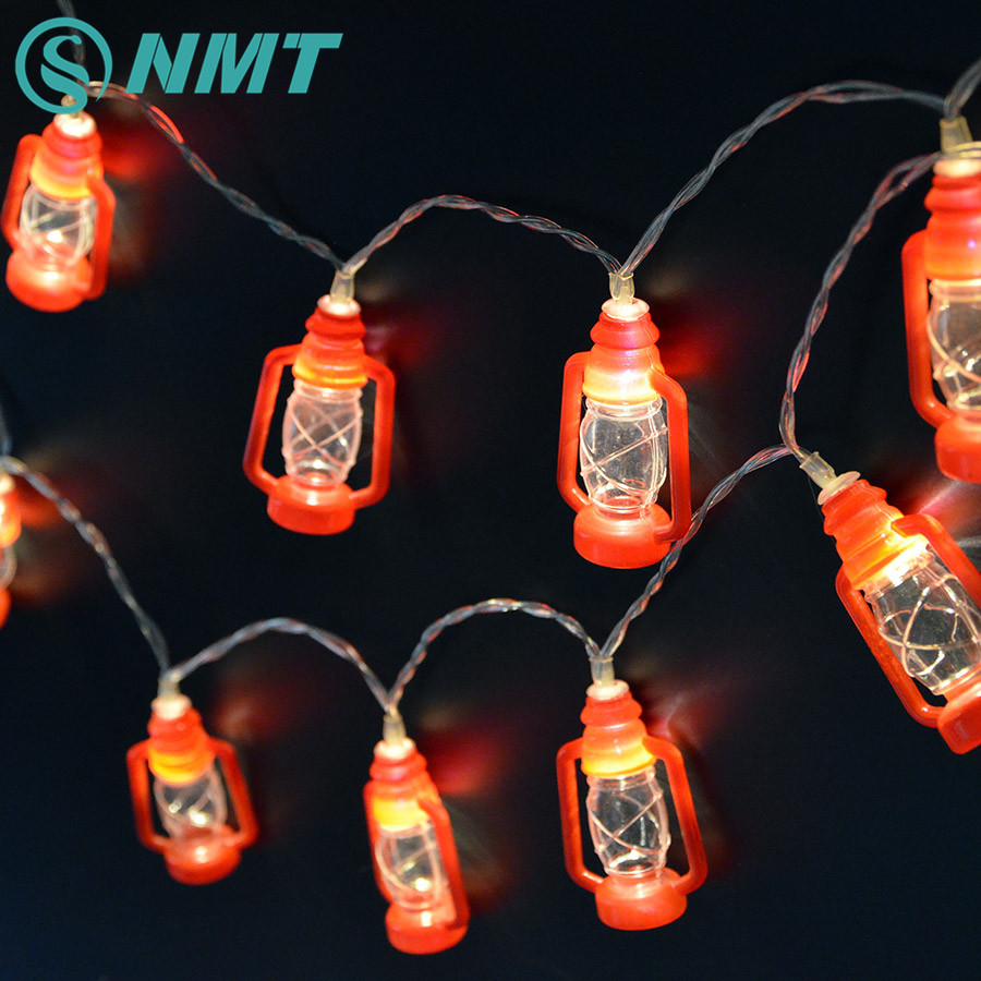Christmas Retro Lantern Fairy String Lights 2m 20 Leds Light Battery Ed Wedding Party Holiday Mini Lanterns Lamp
