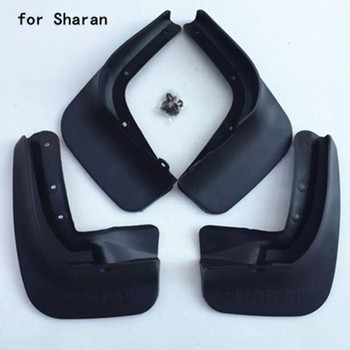 Car accessories car plastic Mud Flaps Splash Guard fender for Volkswagen Sharan 2012-2016 Car styling