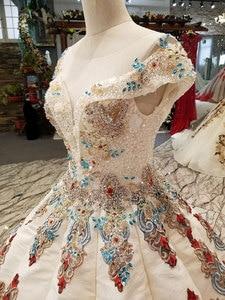 Image 4 - AIJINGYU ชุดเจ้าสาวสีขาวใหม่ชุดเจ้าหญิงจริงราคาลูกไม้ Vintage Boho ร้านค้านี้ SeasonS ชุดแต่งงาน