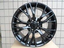 Gloss Black ALLOY WHEEL MAK MUNCHEN W FITS BMW Serie 18 19 5x120 7 W591