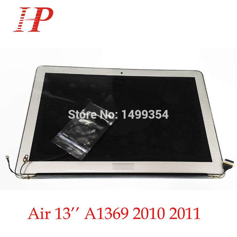 Genuine New 2010 2011 Year A1369 LCD Screen Assembly For Apple Macbook Air 13'' A1369 LCD Assembly 1440*900 MC503 504 965 966 a1369 new original a1369 assembly for apple macbook air 13 lcd display assembly a1369 a grade new and original 2011 year