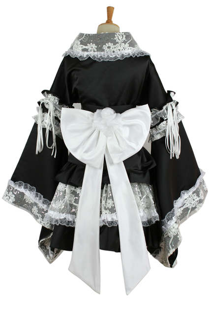 f1e130c55d7 placeholder maid cosplay costume for women Anime clothes lace kimono Lolita dress  girls summer party dress medieval
