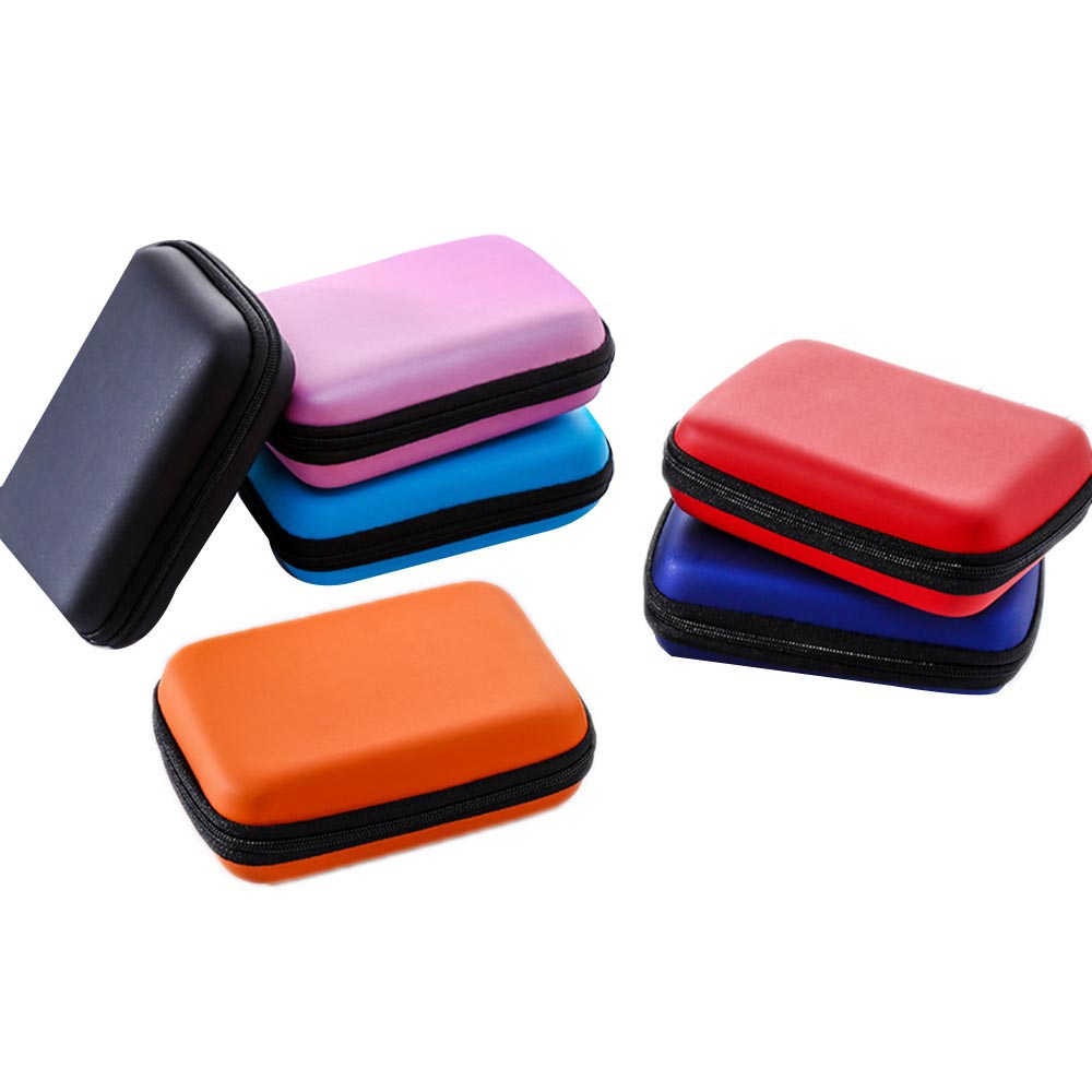 """2.5"""" HDD Bag External USB Hard Drive Disk Carry Mini Usb Cable Case Cover Pouch Earphone Bag for PC Laptop Hard Disk Case New"""