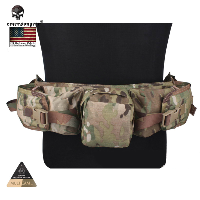 EMERSONGEAR Sniper Waist Bag Hunting Airsoft Painball Equipment Multicam EM5750 лук традиционный сила натяжения 18 кг sniper 70 quot 40lbs bearpaw 30015 150
