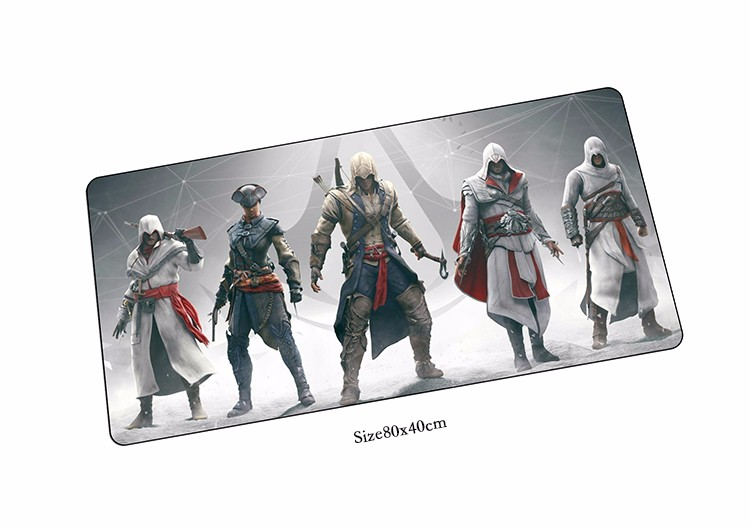 locrkand Assassins Creed mouse pads cool pad to mouse notbook computer mousepad best gaming padmouse gamer to laptop mouse mat