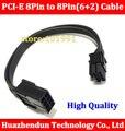 10 pcs 20 cm 8 pinos para 8 pinos 8pin para (6 + 2) Adaptador de cabo de alimentação de extensão 18AWG Cabo 8pin Pci para placa de vídeo