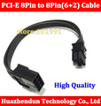 10pcs 20cm 8 pin to 8 pin 8pin to ( 6+2 ) 8pin extention power cable Adapter Cable 18AWG PCI E for video card