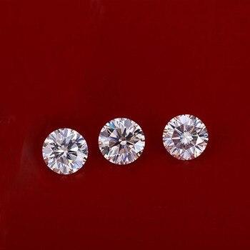 6cda2199377b EDI clásico 0.5ct pera moissanites diamante 14 K 585 oro blanco boda ...