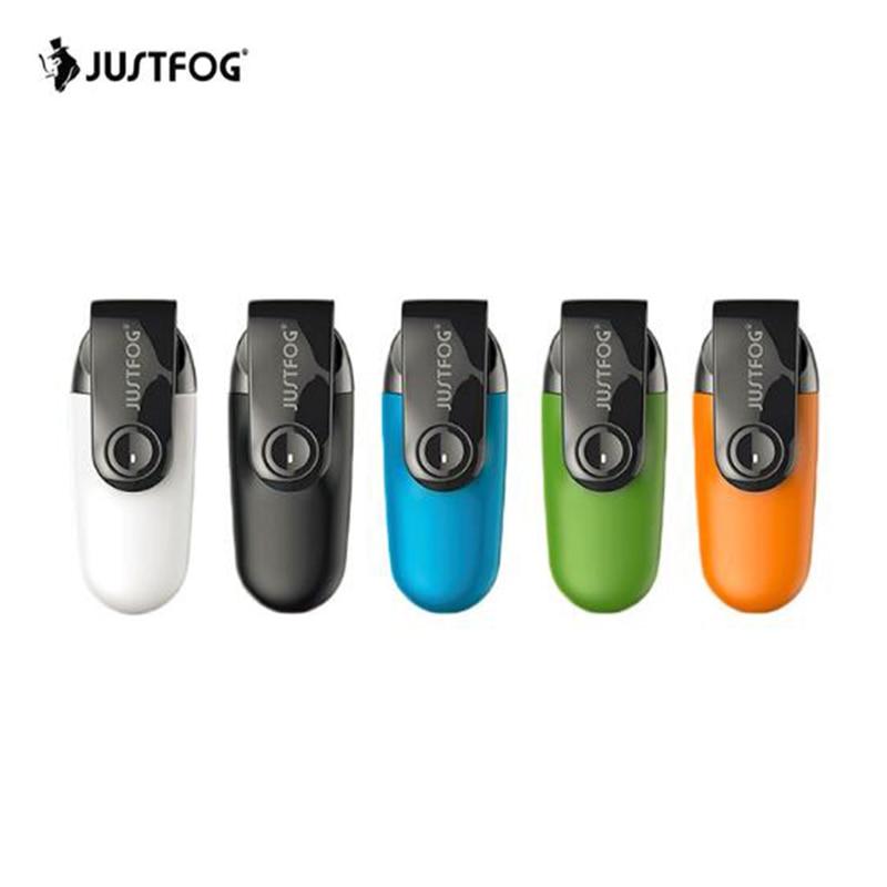 2 pièces Original Justfog C601 Kit avec bouchon anti-poussière 650 mAh batterie intégrée Kit système Portable PK justfog minifit kit