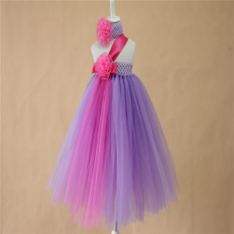 7af768015 Hot pink with purple tutu baby girls toddler birthday party brown tutu  dress handmade retail brown kids dresses with headband-in Dresses from  Mother & Kids ...