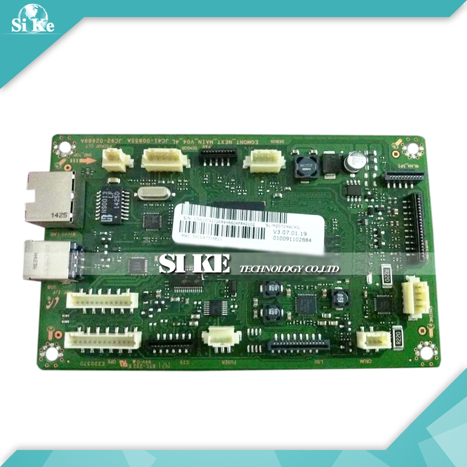 Laser Printer Main Board For Samsung SL-M2071HW SL M2071HW 2071HW 2071 Formatter Board Mainboard Logic Board кольца гимнастические romana треугольные
