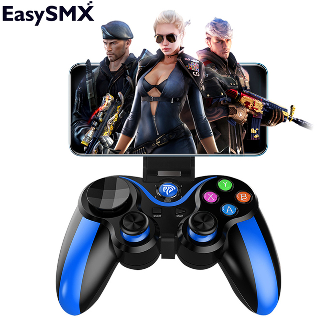 Gamepad for phone EasySMX VA-013 Phone Gamepad Wireless Bluetooth Game Controller Joystick for Xiaomi redmi Phone PS3 PC Gamers