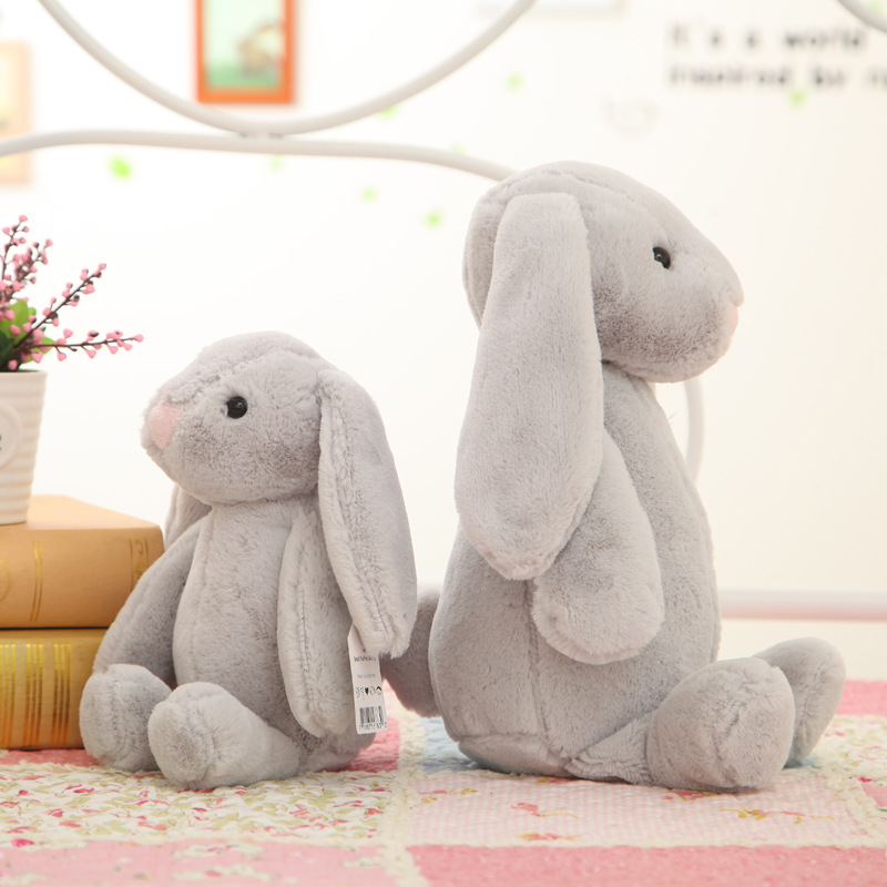 Rabbit Doll Zodiac Big Ear Rabbit Plush Toy Doll Cartoon Doll Children Birthday Gift