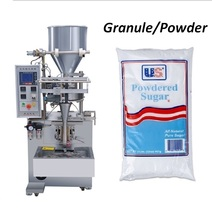 Small potato chips snack/ plastic particles back sealing sachet packing machine