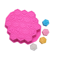 Bee Honeycomb DIY Bread Mould Baking Tools Silicone Molds For Handmade Soap Cake Chocolate Cookie Sugar