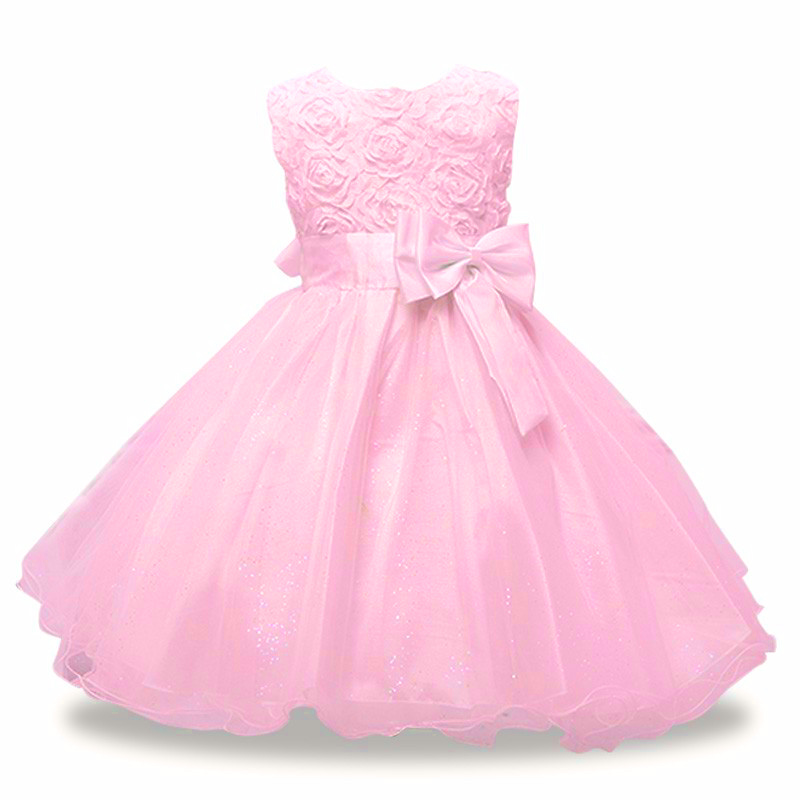girls dress-pink