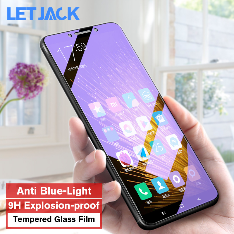 Anti Blue Gentle Tempered Glass For Xiaomi eight Se 6X Explosion Proof Display Protector For Redmi 6 6A 5 S2 Word 5 Protecting Movie
