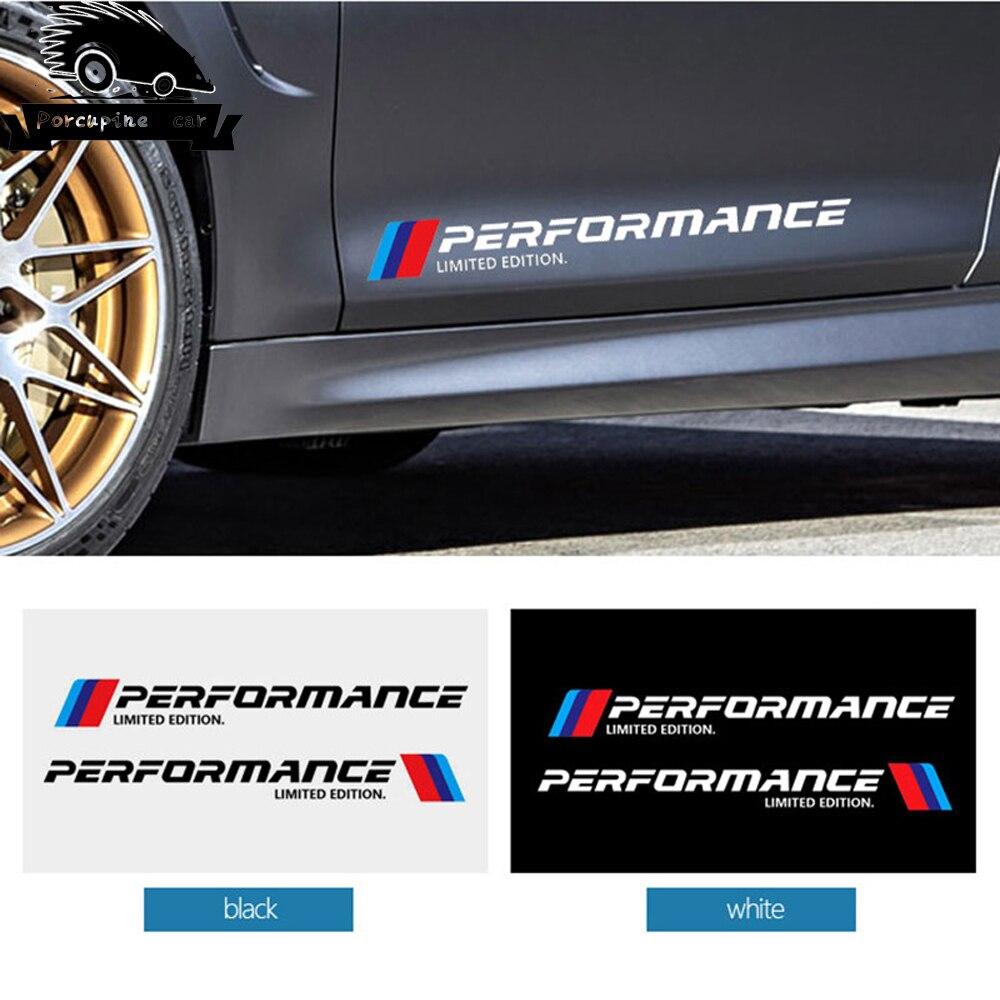 BMW M Performance Seat Belt Pads Cover X2 Series 1 2 3 4 5 6 7 Free Sticker
