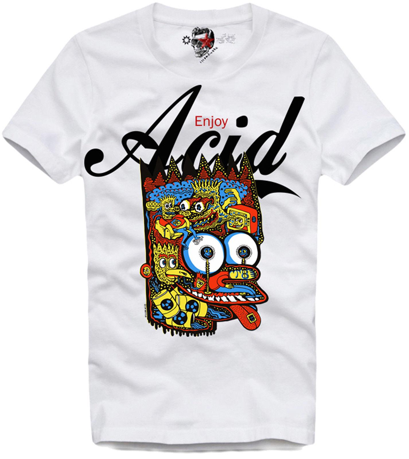 US $11 59 42% OFF|T SHIRT ENJOY ACID LSD MESKALIN 2C B AL LAD DMT MEO 3457  Cool Casual Pride T Shirt Men Unisex New Fashion Tshirt Loose-in T-Shirts