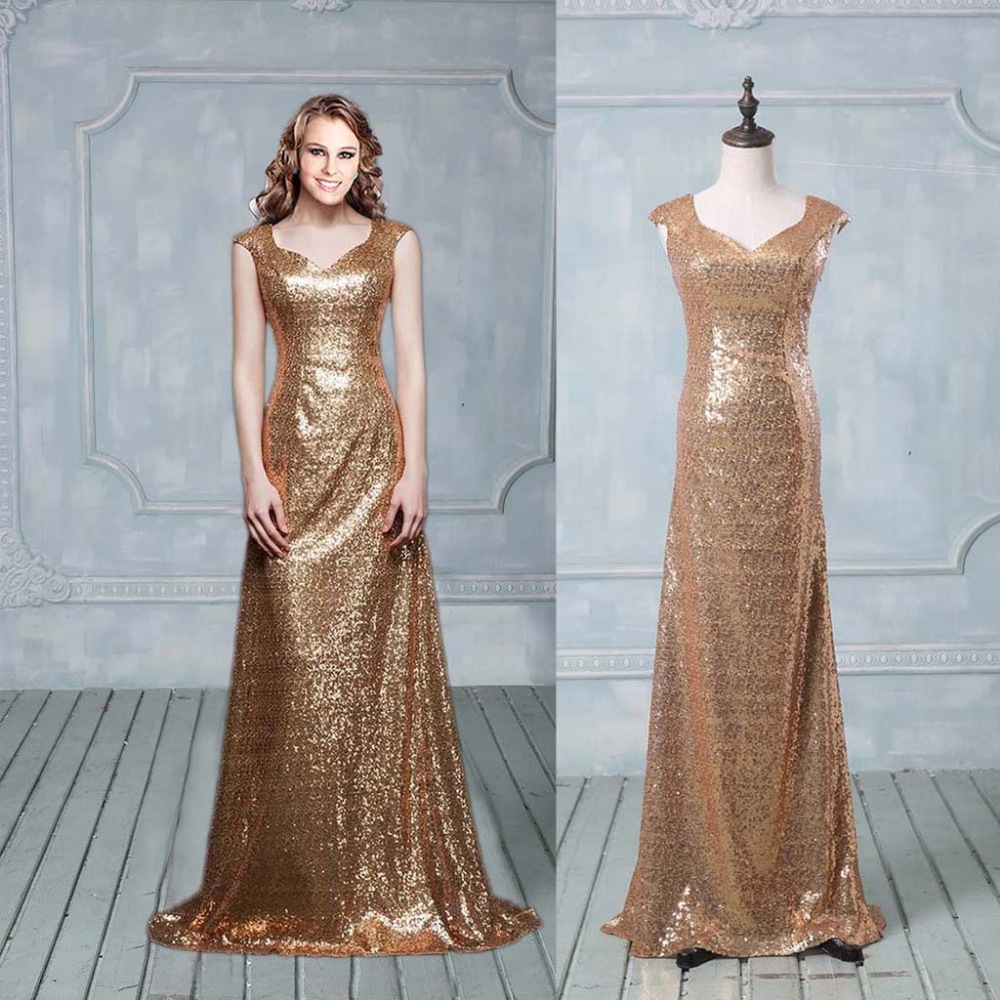 Magnificent Gold Sequin Party Dresses Inspiration - All Wedding ...