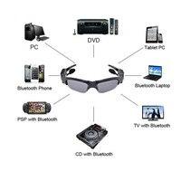 Bluetooth Headset Sunglasses 8GB Memory Card DV DVR Video Camera MP3 Player High Resolution 200w Mini
