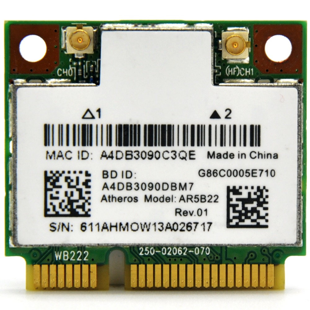 PCI Express PCI e 300Mbps IEEE 802.11b//g//n Wireless WiFi Network Card Adapter Value-5-Star