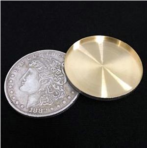 1 Pcs High Quality Expanded Shell Super Morgan Dollar Coin Magic Tricks Accessory Magic Gimmick Props