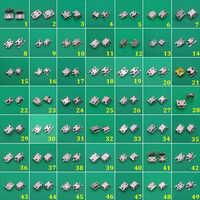 Mini Conector Micro USB de 49 modelos, toma de corriente v8 para Samsung, Lenovo, Sony, HUAWEI, teléfono móvil y tableta