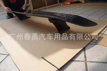 Misura per nissan GTR R35 wald in fibra di carbonio spoiler ala coda