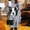 Новый Осени Зимы Толстый Серый Собака Животных Кружева Одежда для Беременных Беременность Платье для Беременных Женщин Беременность Одежда Негабаритных