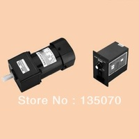 NO.AS9003 speed control motor with controller! 5IK90RGN C/5GN03K ac speed control gear motor 90w 220V 1 PH 3:1