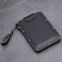 цены Maideduod Genuine Leather Credit Card Holder Pulled Men Women Business ID Card Holder Unisex Slim Women Wallets Mini Card Cases