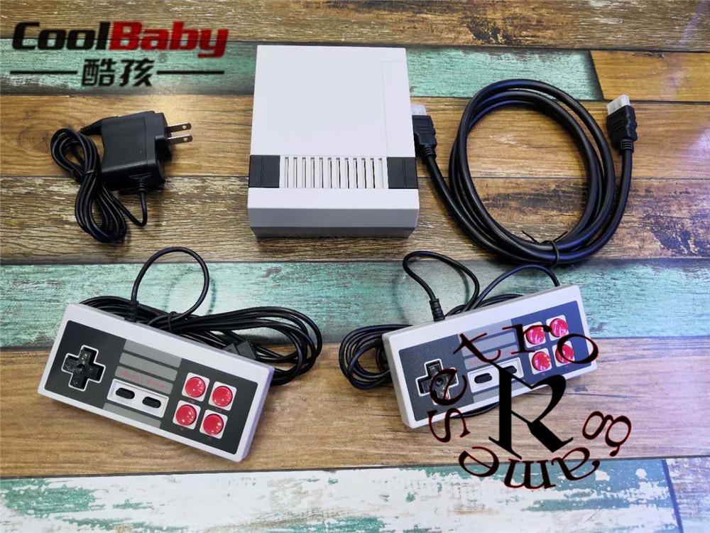 DHL 5 120 шт./лот Новый мини игровой консоли Ретро ТВ Ручной игровой консоли встроенный 621 различных игр с HDMI выход PAL и NTSC