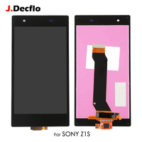For Sony Xperia Z1S L39T C6916 Test LCD Display Touch Screen Digitizer Full Assembly Replacement Part with Frame Original Black