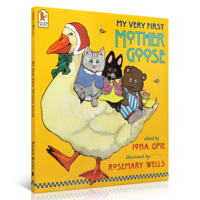 Free Shipping English My Very First Mother Goose Kids Clical Nursery Rhyme Song Children Picture Book