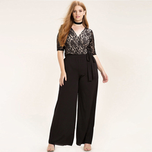 Plus Size Casual Jumpsuit