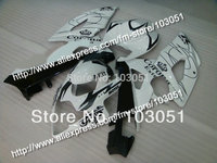 Injection molding bodywork for 2005 suzuki gsxr 1000 fairings K5 2006 GSXR 1000 fairing 05 06 glossy white Corona HM82