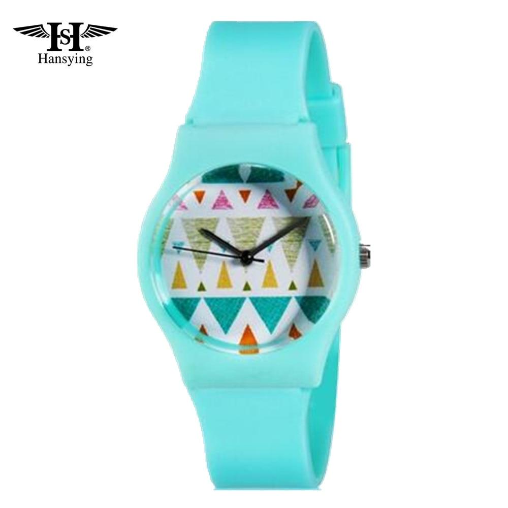 Jelly ceasuri de mână Femeie cuarț digital Ceas Kid's watch Ceas de student relogios feminino