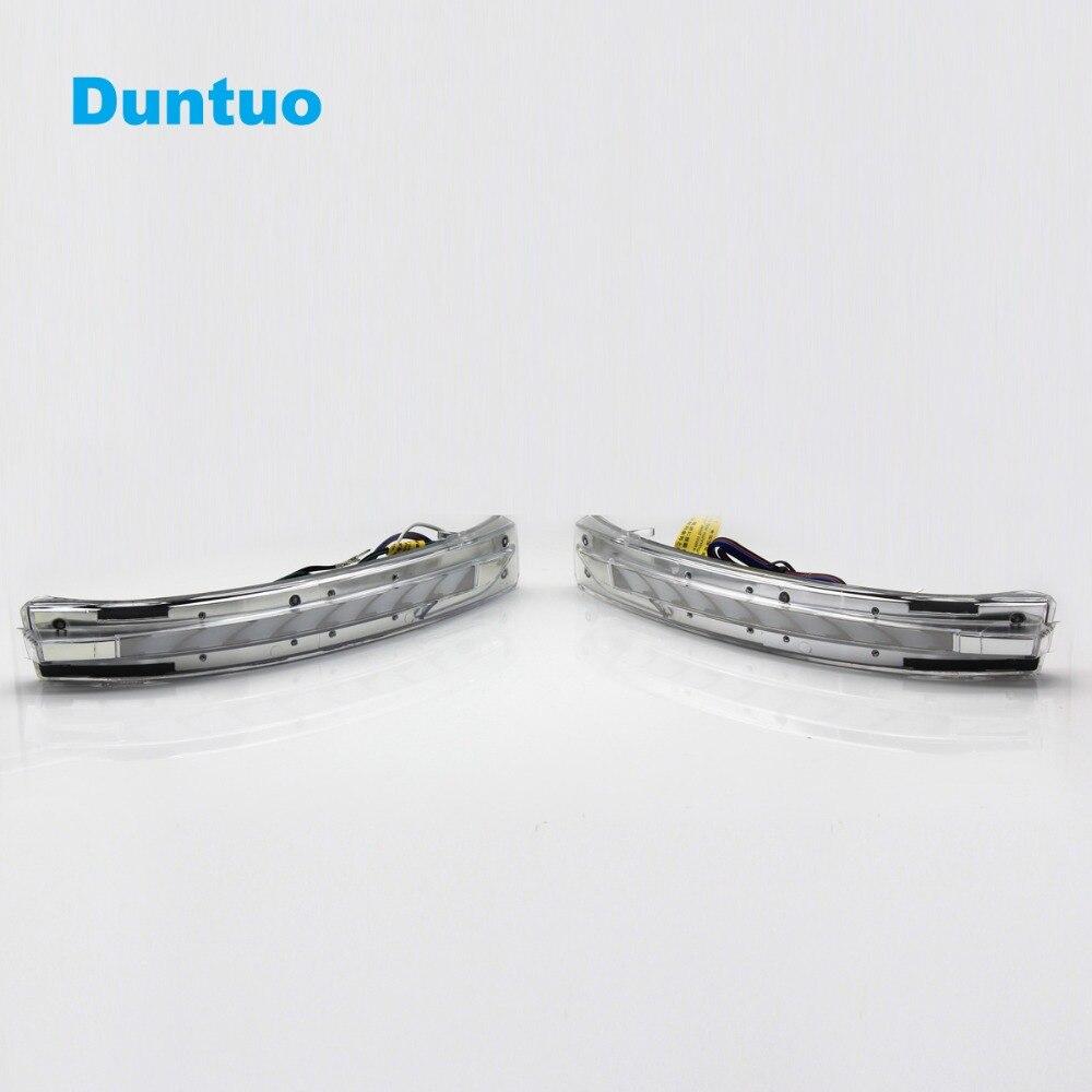 Заднего света светодио дный последовательного течет сигнальные лампы ходовые огни для Nissan X Trail T32 Qashqai J11 Мурано Z52 JUKE Серена