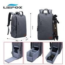 Large Capacity Multi-functional Waterproof Padded Instert Camera Backpack Travel Bag Laptop 15″ For Canon/Nikon Digital Cameras
