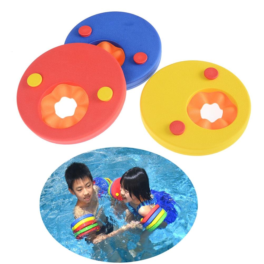1 Stück Schwimmen Discs Schaum Arm Bands Schwimmen Float Trainer Für Kinder Kinder Schwimmen Arm Ring Pool Zubehör Seien Sie Freundlich Im Gebrauch