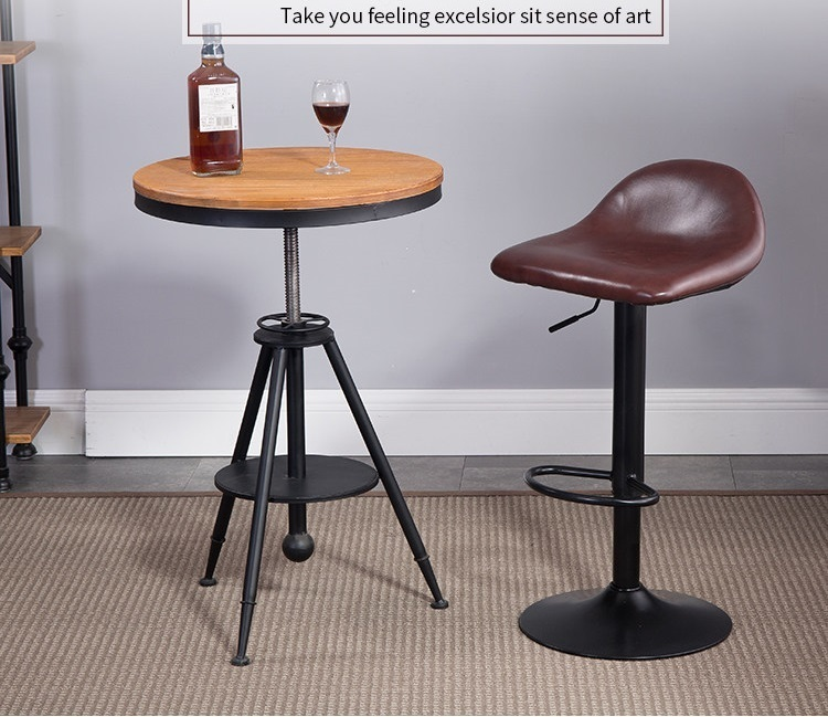 Office Coffee Stools Bar KTV Kalaok Oxygen Bar Chairs Free Shipping Brown  Purple Color Chair Furniture Design Stool