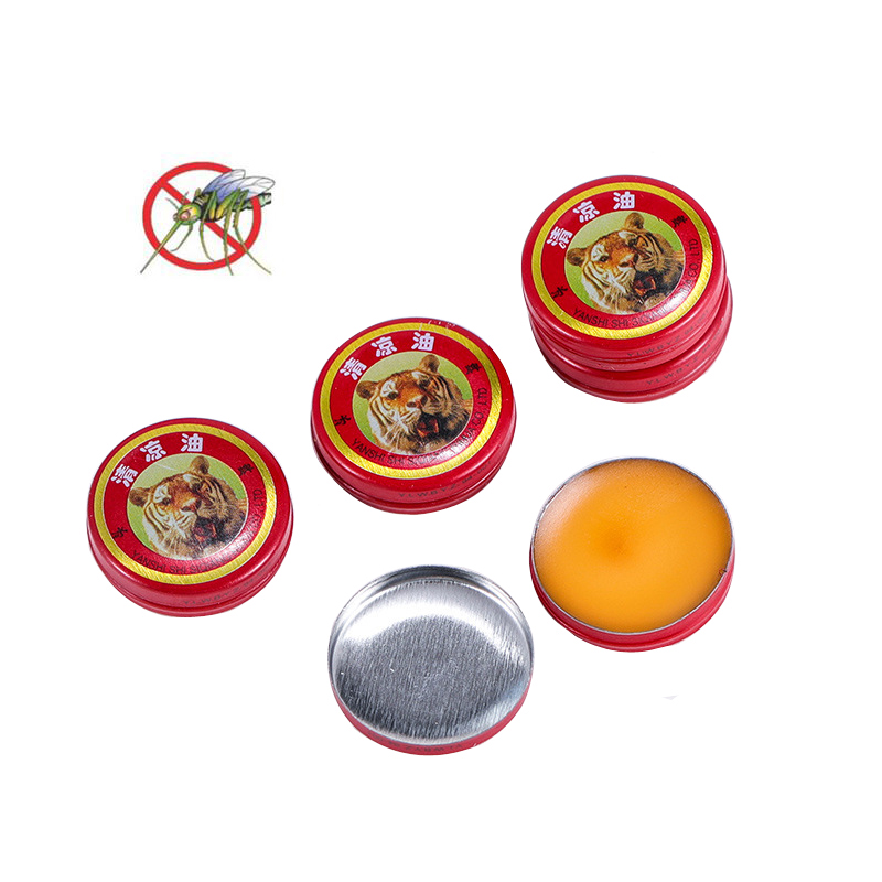 5PCS Plant Composition Insect Killers Summer Outdoor Anti Mosquito Drive Midge Ointment Portable Relieve Itching Essential Oils