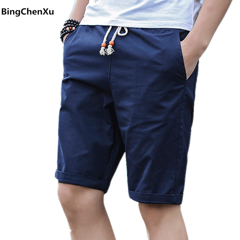 77b64e39e7f Casual Shorts Men Slim Fit 2019 Summer Fashion Cotton Breathable Male Brand  Clothing Shorts Homme Bermuda Trousers Big Size 628